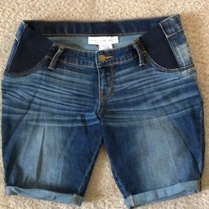 Maternity Bermuda Denim shorts ☀️❤️☀️❤️